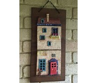 Mounted Clay Wall Hanging